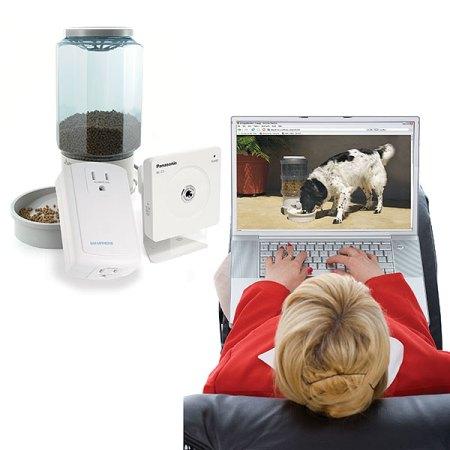 Remote Pet Feeding & Viewing Camera Kit