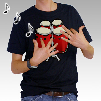 Electronic Bongo Drum T-Shirt