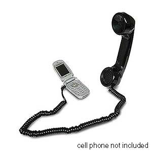 NovoPhone Retro Cell Phone Handset 2.5mm Jack