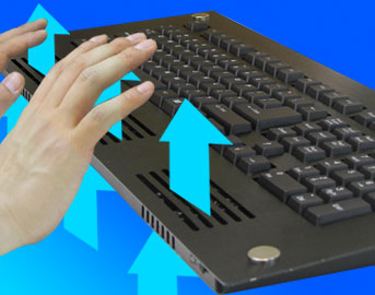 USB Cooler Keyboard